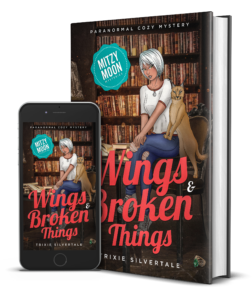 Wings and Broken Things Paranormal Cozy Mystery 3D