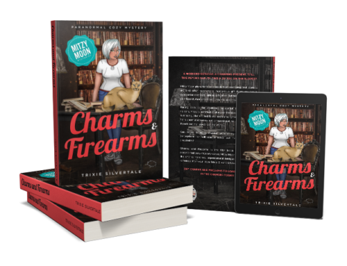 NEW RELEASE – Charms and Firearms: Paranormal Cozy Mystery