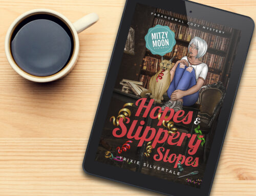 NEW RELEASE – Mitzy Moon Mysteries #11 – Hopes and Slippery Slopes!