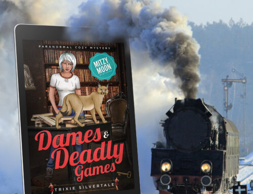 NEW RELEASE – Mitzy Moon Mysteries #13 – Dames and Deadly Games!