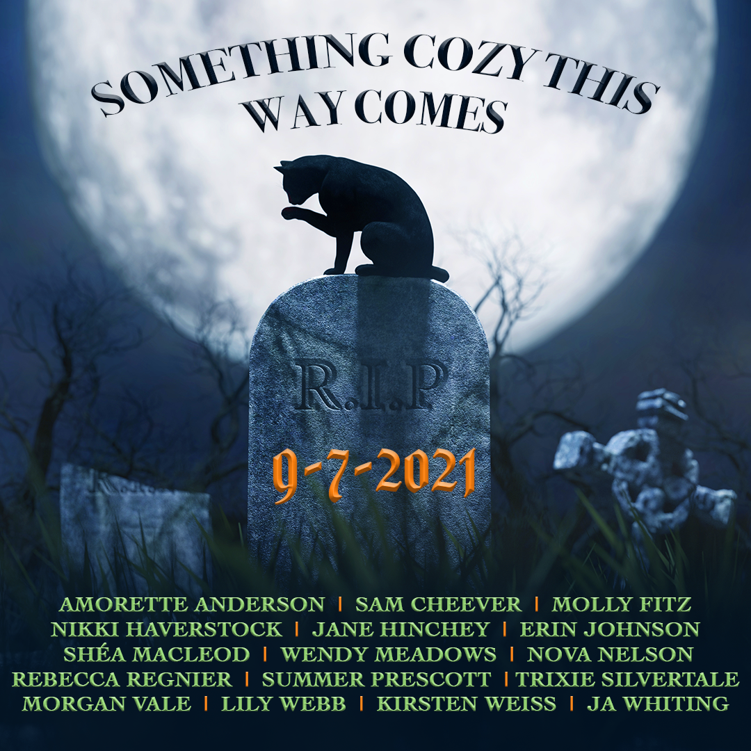 Bestselling Paranormal Cozy Mystery Anthology for Halloween